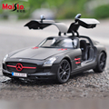 Maisto Mercedes-Benz SLS AMG 1:18 Scale Cars Model Alloy Toys Diecasts & Toy Vehicles Collection For Children Christmas gifts