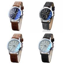 Belt Sport Quartz Hour Wrist Analog Watch men watch clock man digital leather brand casual fashion wristwatch A40