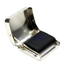 70mm Tobacco Rolling Box Metal Automatic Cigarette Smoking Roller Machine New-W110