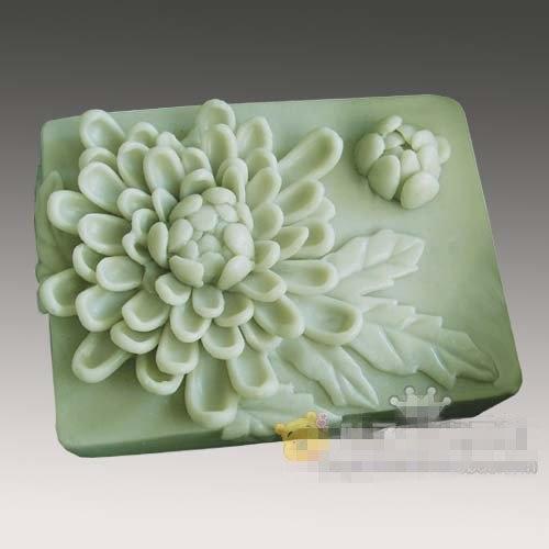 Chrysantheme Blume Silikon Seifenform Handgemachte Silikon 3D Form DIY Craft Formen S178