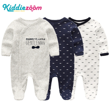 2019 Girls Clothing Unisex 0 12M Cotton Bodysuits Baby Girl Clothes Newborn Star Striped Baby Boy Clothes Ropa Bebe 2/3PCS