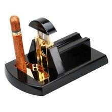 Cigar Cutter Metal Stainless Desktop Cigar Scissors Thicker Large Guillotine Cigar Cutter R752