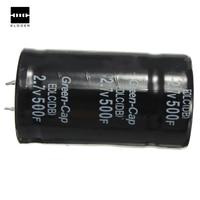 Best Promotion 1pcs Black Farad Capacitor 2 7V 500F 35x60MM Super Capacitor Hot Sale Best Promotion