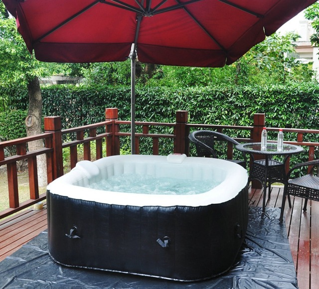 Aliexpress.com : Buy Homax Inflatable 158 Gallons(600 Liter) SPA 4 ...