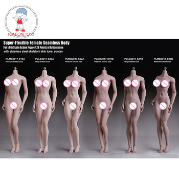 TBLeague 1/6 Woman Body Figurine Pale Suntan Skin Seamless Female Figure Model Collections for 12 inches Action Figure