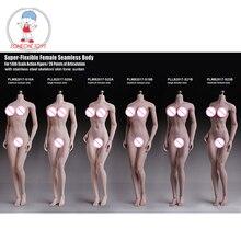 TBLeague 1/6 אישה גוף צלמית חיוור שיזוף עור חלקה נשי איור דגם אוספים 12 סנטימטרים פעולה איור