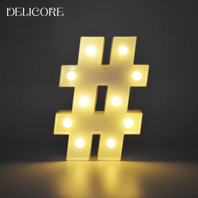 delicore letters light shape led plastic marquee light battery operated led marquee sign for home