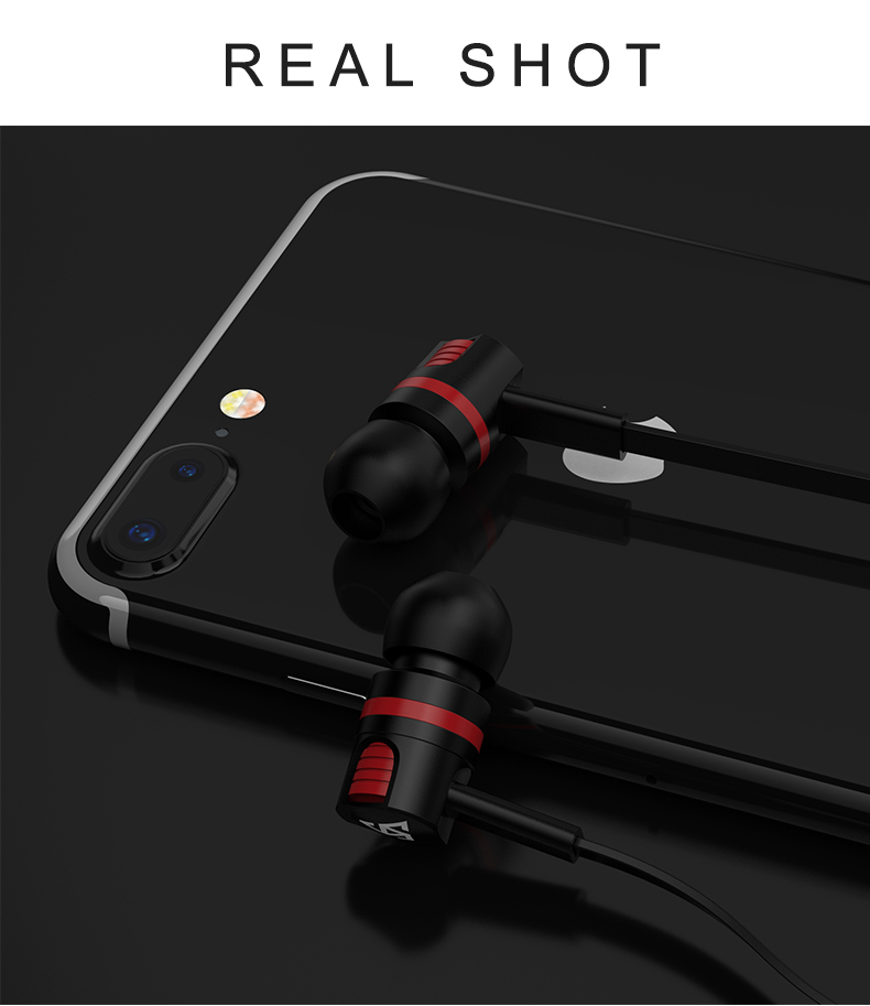 Original Brand Earbuds JM26 Headphone Noise Isolating in ear Earphone Headset with Mic for Mobile phone Universal for MP4 19