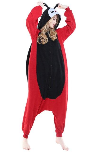 3c9d513118c Leuke Mannen Vrouwen Unisex Volwassen Winter Lente Herfst Animal Rood  Lieveheersbeestje Onesies Halloween Cosplay Nachtkleding Liefhebbers