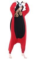Nette Männer Frauen Unisex Erwachsene Winter Frühling Herbst Tier Red Marienkäfer Onesies Halloween Cosplay Nachtwäsche Liebhaber Pyjamas Kostüm