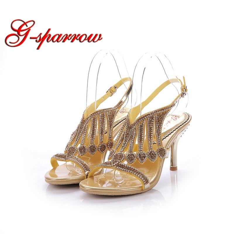 Black De Alto Las Vestido Mujeres silver Moda Talón Heel 3 Nupcial Pulgadas Sexy Verano Abierta Plata Stiletto Zapatos Sandalias Negro gold Del Aguja Punta Heel Oro Tacón Heel t8Cwr8q1
