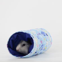 Small Toy Tubes Tunnels Spring Hamster Cage House Nest Bed