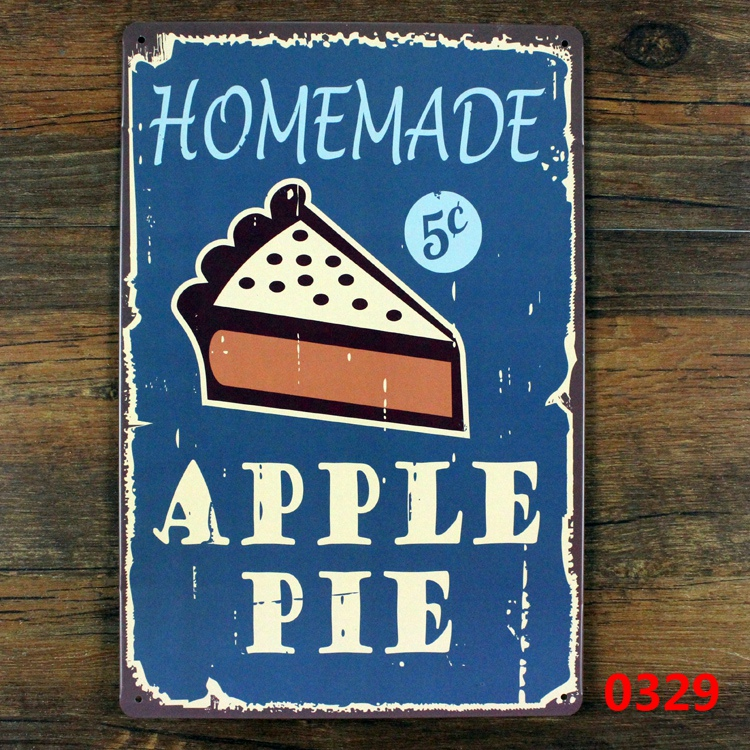 New arrival vintage metal tin signs about food