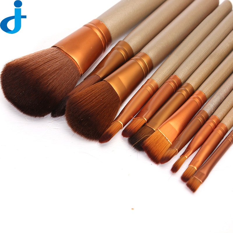 12PCS Professional Makeup Brushes Set Soft Cosmetic Shadow Brush Kit Make-Up Foundation Brushes Tools & Accessories SC33 new style professional women lady facial makeup tools cream foundation soft type cosmetic make up brush easy carry