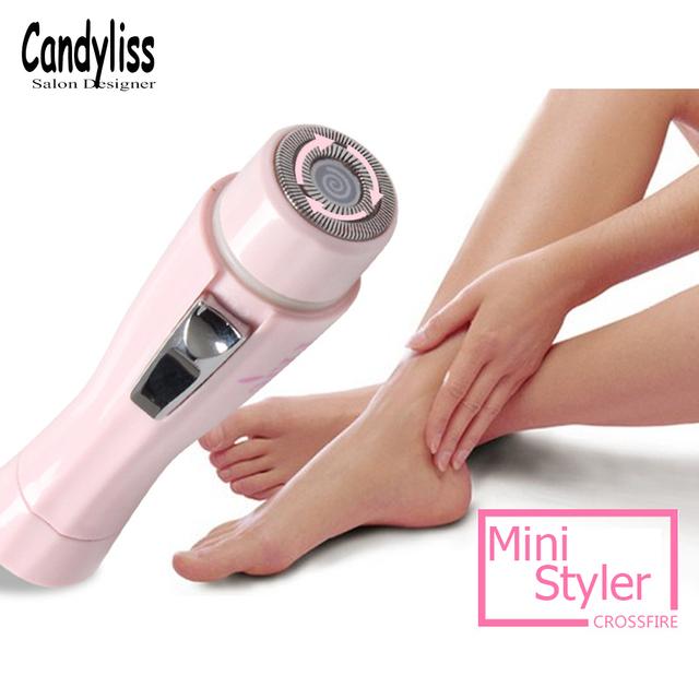 Portable Mini Lady Personal Shaver Razor Epilator Painless Electric Facial Body Underarm Hair Removal Women Beauty Shaver