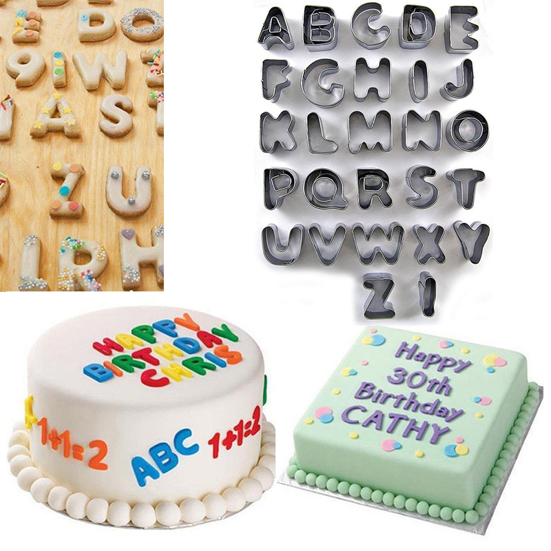 Selecto Bake 26 Alphabet Large Letters Chocolate Mould Birthday