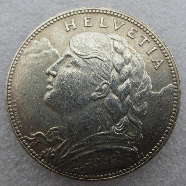 100 Franken 1925 Vreneli Silber Schweiz Kopie Münzen In 100 Franken
