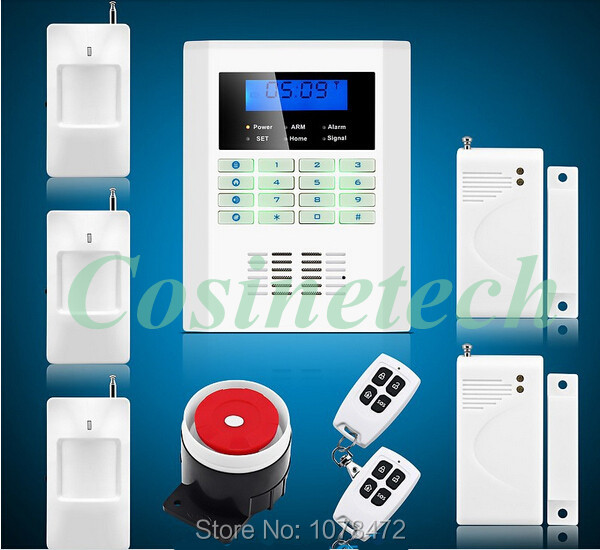 Hot sales,101 defense zones Intelligent functional security Wireless 850/900/1800/1900MHz GSM PSTN home safe Alarm System free shipping 16 zones wired and wireless alarm control pane home security alarm host wireless and wired 850 900 1800 1900mhz