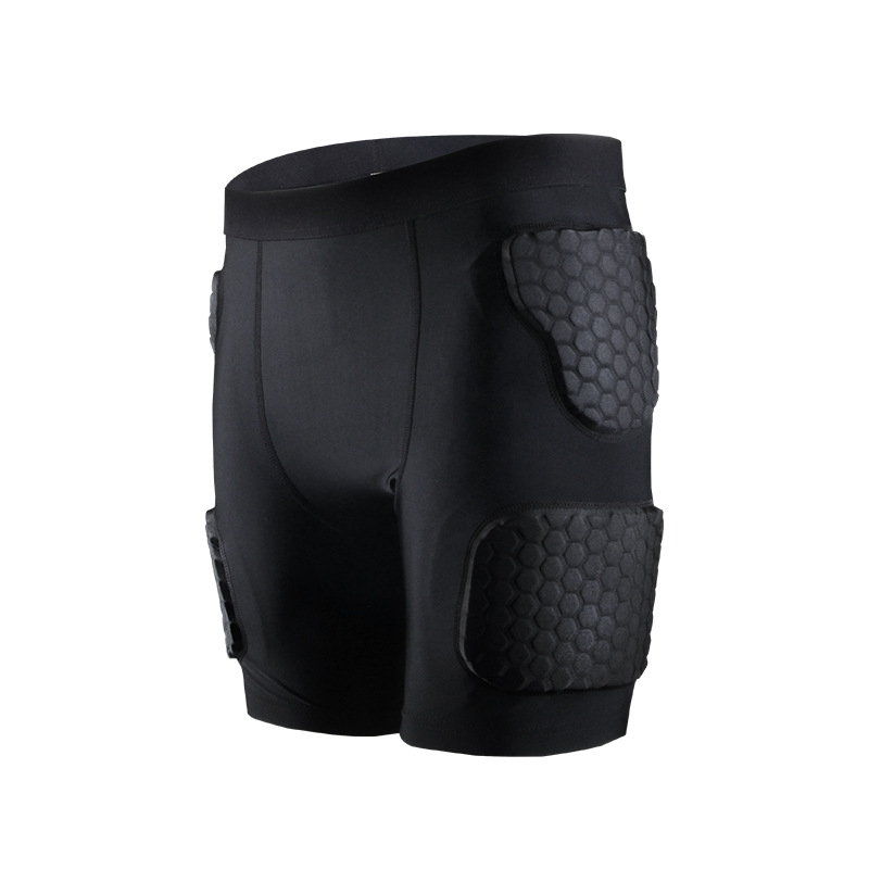 Adult Men Padded Compression Shorts Hip And Thigh Protector For Football Paintball Basketball Ice Skating Soccer Hockey 2019Adult Men Padded Compression Shorts Hip And Thigh Protector For Football Paintball Basketball Ice Skating Soccer Hockey 2019