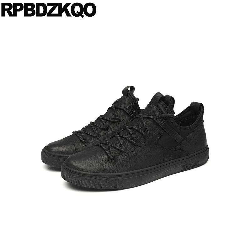 0eedf384 designer shoes men luxury 2018 casual plus size winter sneakers skate lace  up elevator trainers 11
