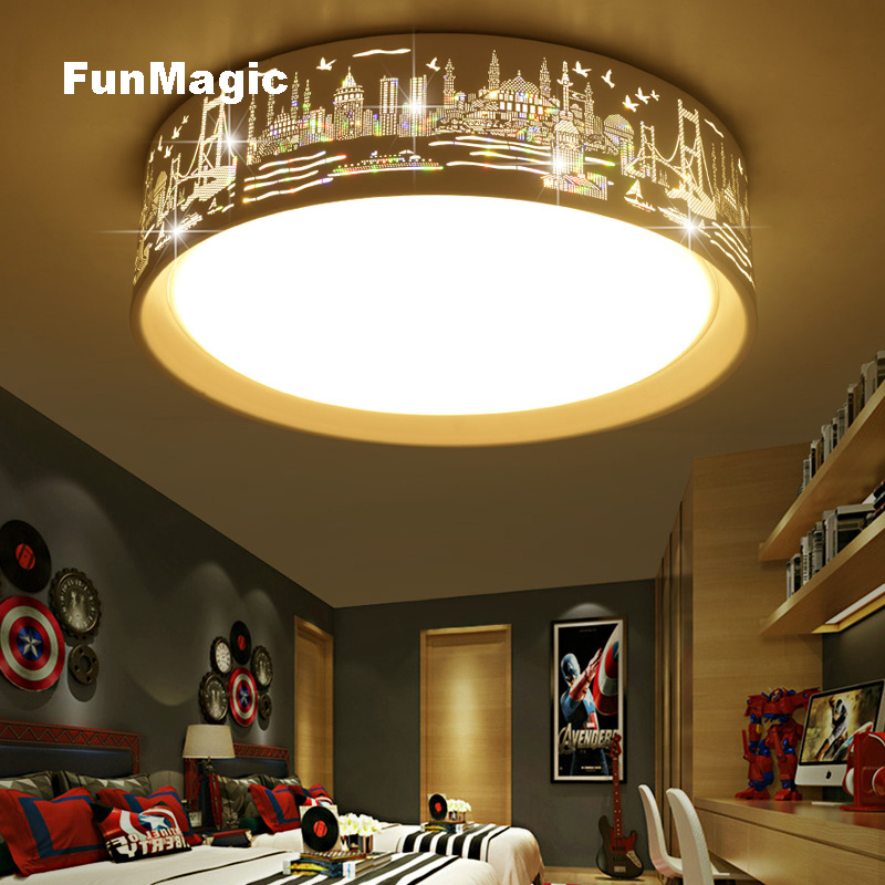 Round Hollow Led Ceiling Light