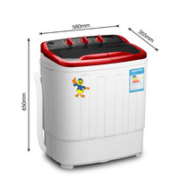 5kg loading weight twin tub  washing machine mini mini laundry machine  washer and dryer machine disinfection  washer machine