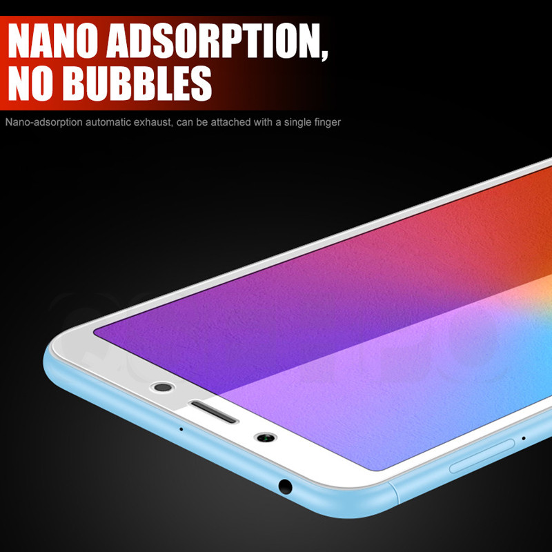 Image 2 - 3D Full cover Tempered Glass For Xiaomi Redmi 6A redmi 7A Screen Protector On the For Redmi 6 Redmi 5A 4X Protective Glass Film-in Phone Screen Protectors from Cellphones & Telecommunications