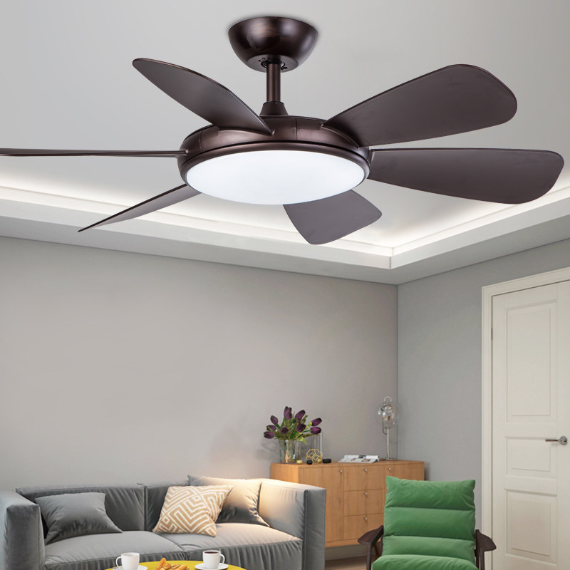 Ceiling Fans Modern Simple Colors Ceiling Fan Lamp Macaron Kids Room Living Room Led Iron Art Fan Lamp Colorful Fan Leaves Deco Pendant Lamp Lights & Lighting