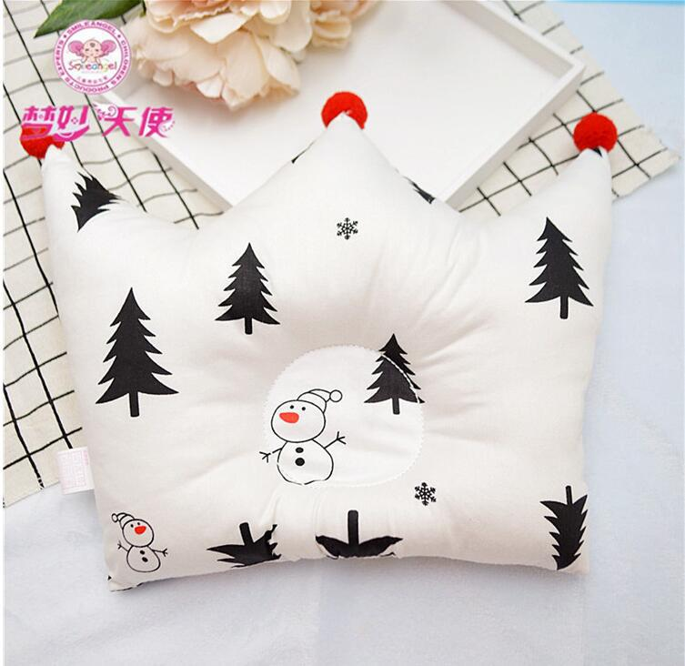 Shaping Pillow Baby Newborn Cute Backrest Cushion 0-1 Years Old Anti-head Correction Pillow Bedroom Bedding Room Decoration 5