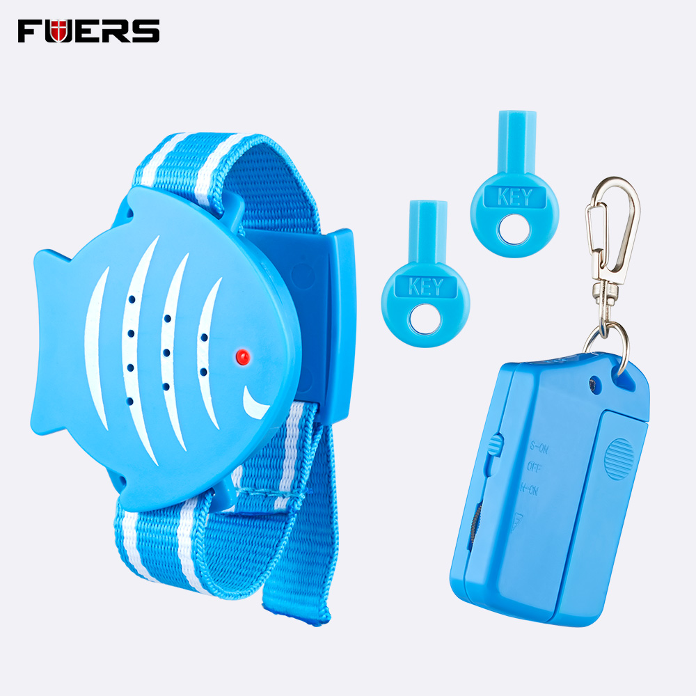 Fuers Baby Children Tracker Child Anti Lost Alarm Pet Reminder Alarm Key Finder Search Function Safeguard Against Theft Keychain