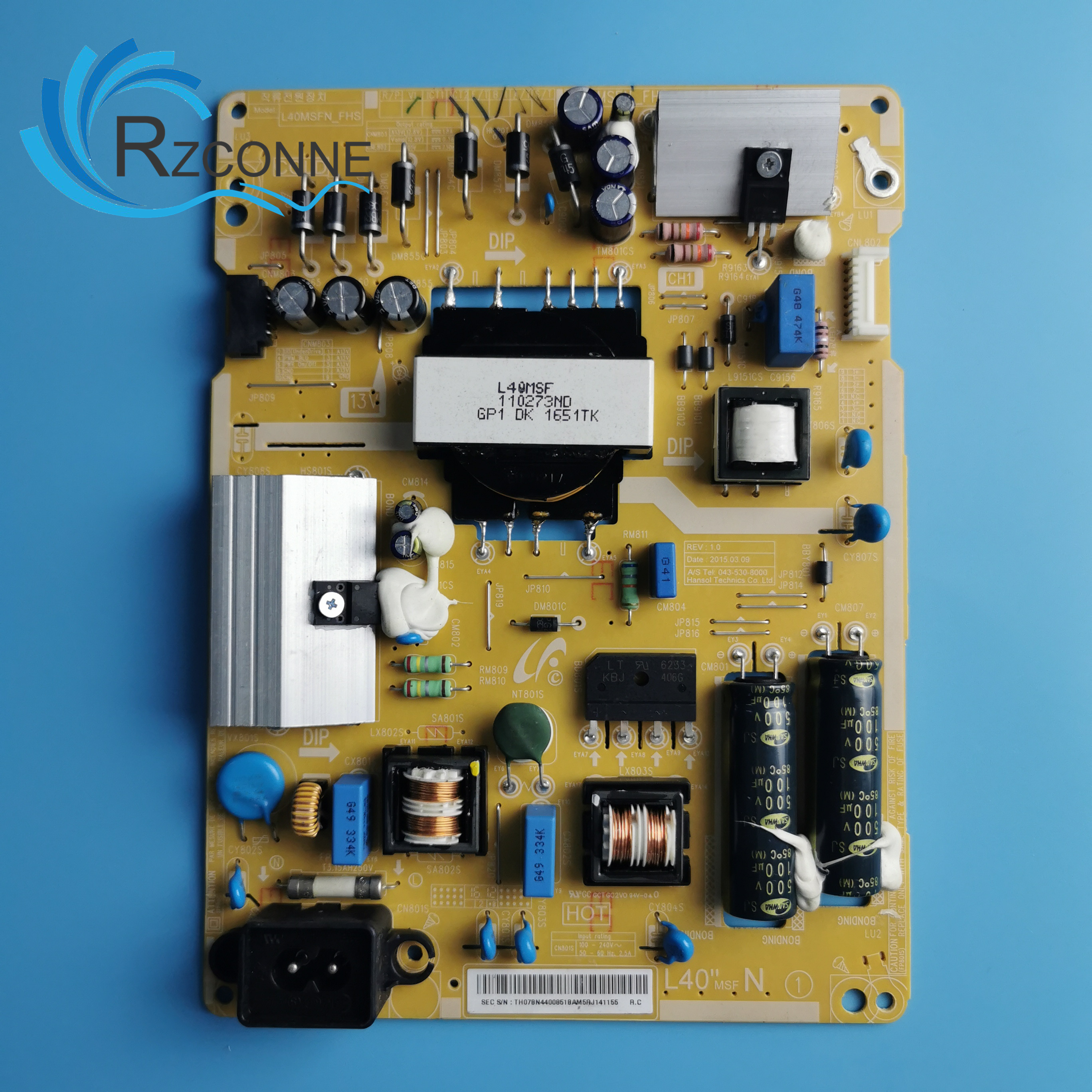 Power Board Card Supply BN44-00851B L40MSFN-FHS For 40 Inch Samsung LCD TV UA40J5000AR