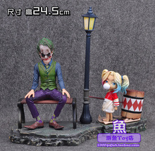 DC Comic Super Hero Film Statue Batman Suicide Squad villain The Joker Harleen Quinzel Harley Quinn Cute Figure Figurine