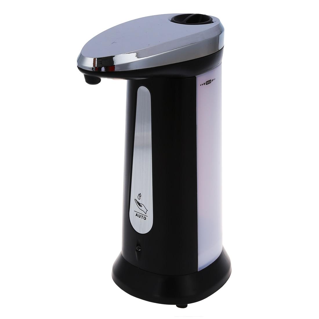 Novo Sensor Soap & Automatic Sanitizer Dispenser Touch-livre Cozinha Casa de Banho Cinzento