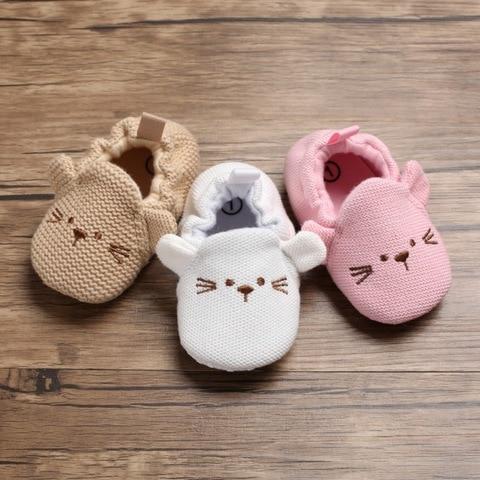 New Baby Shoes First Walkers Infant Baby Girls Boys Pram Crib Shoes Soft Sole Newborn Baby Sneakers Prewalker Karachi