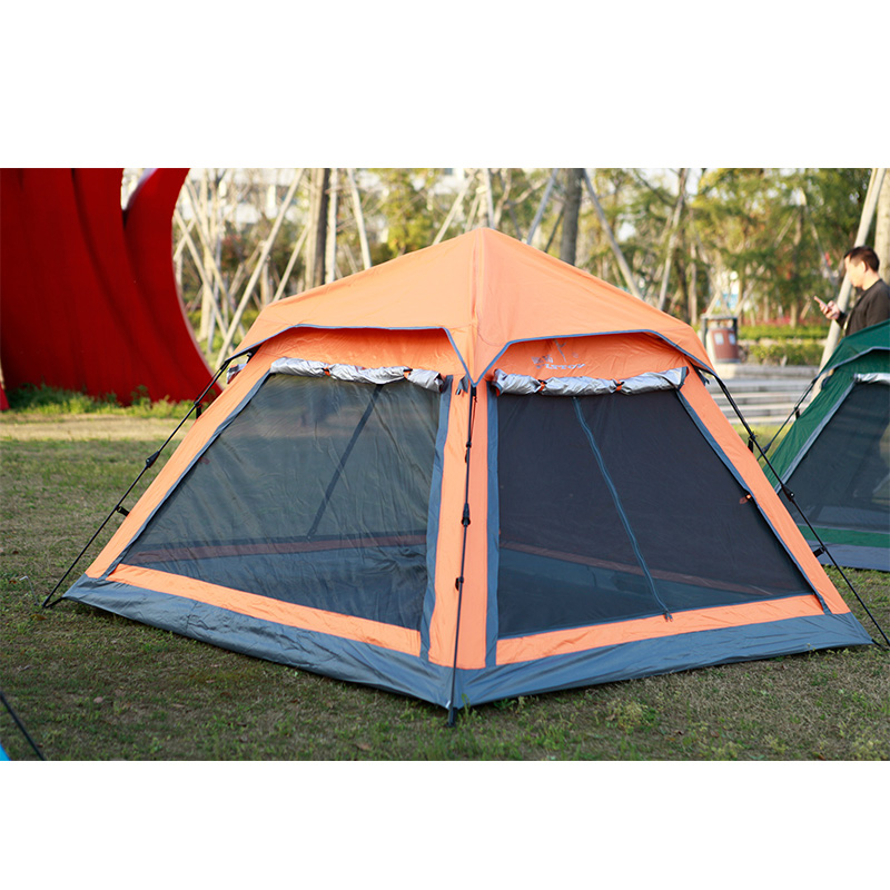 STARHOME Outdoor Family Tent 3 4  Person Waterproof Automatic Anti-UV Tent Ultralight Large Camping Tent high quality outdoor 2 person camping tent double layer aluminum rod ultralight tent with snow skirt oneroad windsnow 2 plus