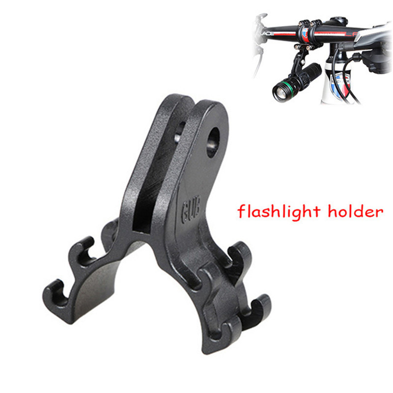Bicycle Lamp Light Torch Flashlight Holder Mount Clip Mount Bracket For MTB Bike Road Bicycle Cycling Handlebar Parts