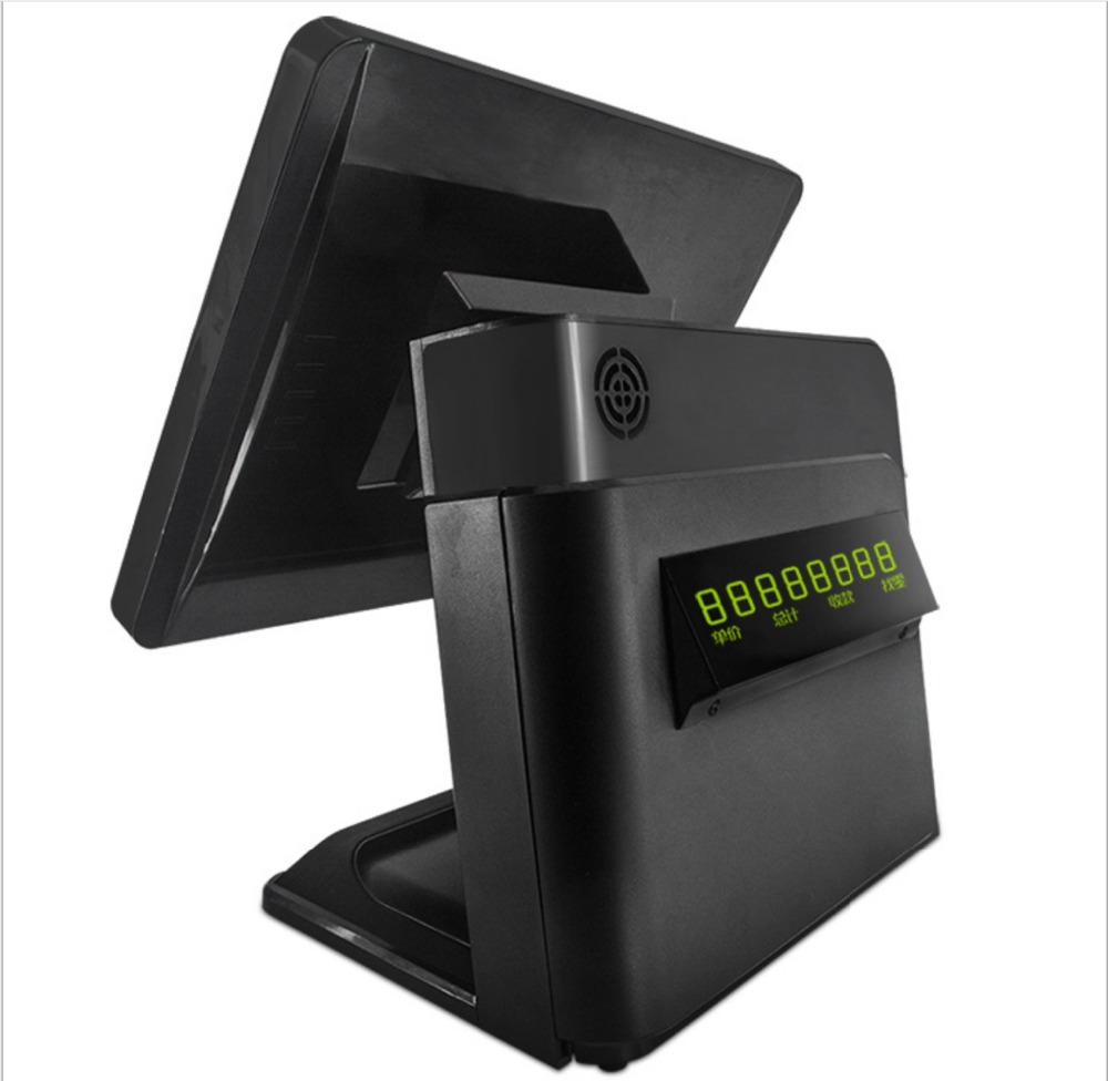 Pos 15 Inch All In One PC, Customer Display Touch POS System, Point Of