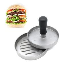 Meijuner Round Shape Hamburger Press Aluminum Alloy 11 cm Meat Beef Grill Burger Patty Maker Mold Dropshipping