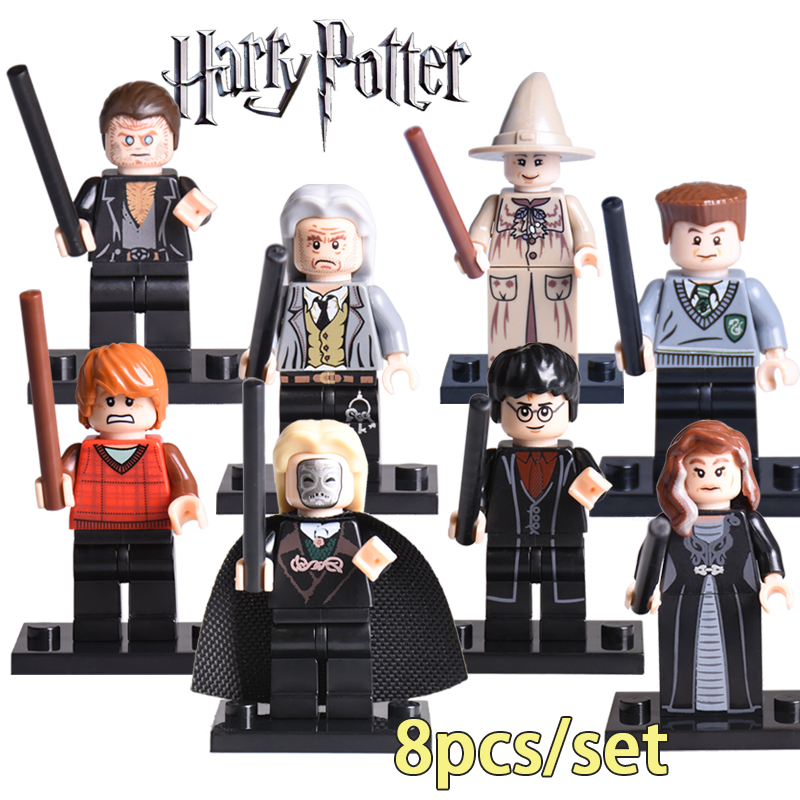 8pcs set harry potter diy figures narcissa malfoy - Rone harry potter ...