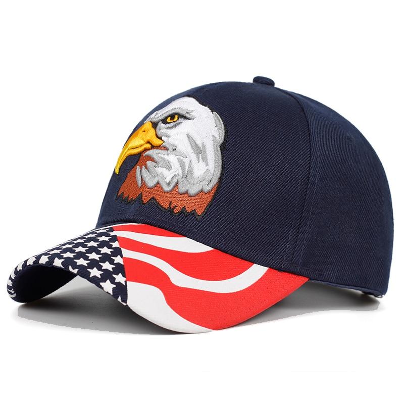 2019 Spring Summer Mens Baseball Caps Embroidery Eagle Hunting Desert Hat Women Hip Hop Adjustable Golf Sports Hats