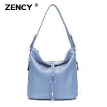 13 Colors Soft 100% Genuine Cow Leather Handbags Small Girl