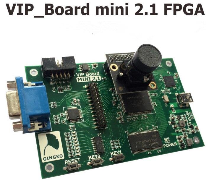 Livraison gratuite FPGA + USB2 + SDRAM + VGA + CMOS caméra (OV7725) image vidéo carte de développement Technique HTP