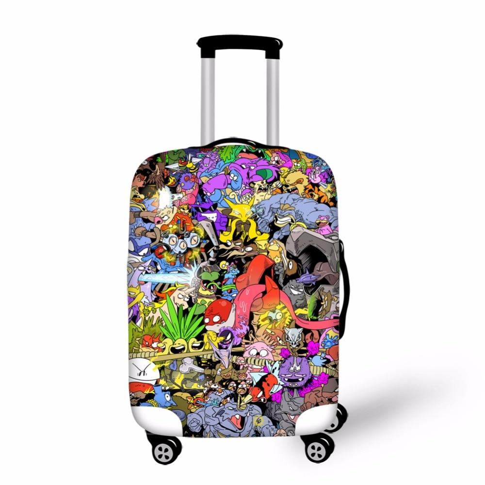 Jeremysport Luggage Cover Pokemon Go Print Apply For 18 28