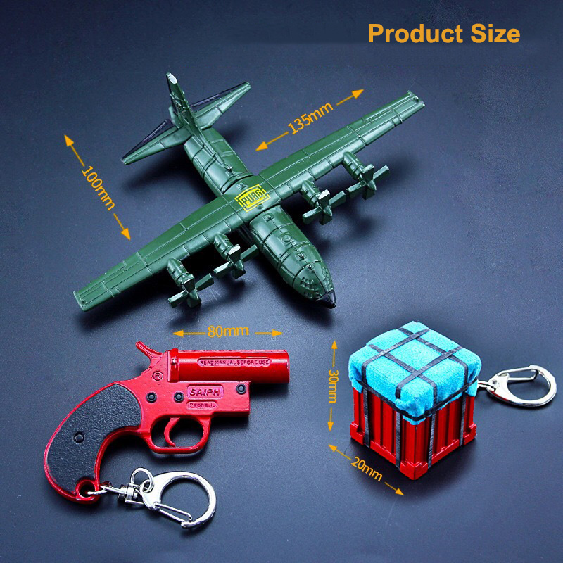 Aircraft Airdrop Box Keychain (14)