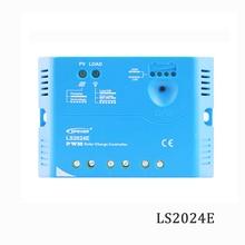 LS2024E 20A 12 v 24 v Epsolar Landstar Solar Controlador de Carga PWM PV 100 w 200 w 18 v Solares reguladores painéis carregador