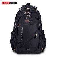 MAGIC UNION Brand Design Men S Travel Bag Man Backpack Polyester Bags Waterproof Shoulder Bags Computer