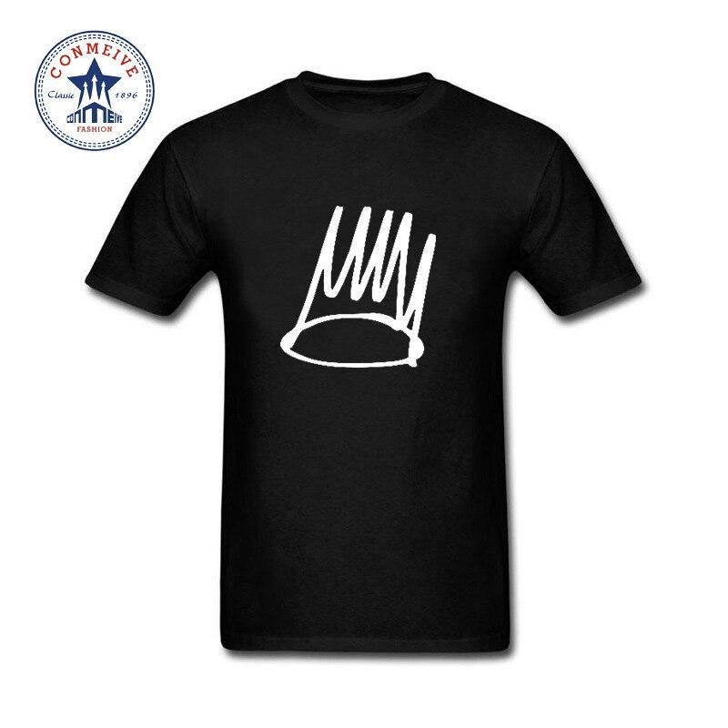 2017 Hot High Quality Cotton J Cole Cotton Funny Cotton T Shirt for men ...