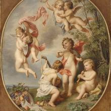 Классическая музыка ангелов, печать на холсте, картина маслом, напечатанная на холсте, украшение для стен, картина