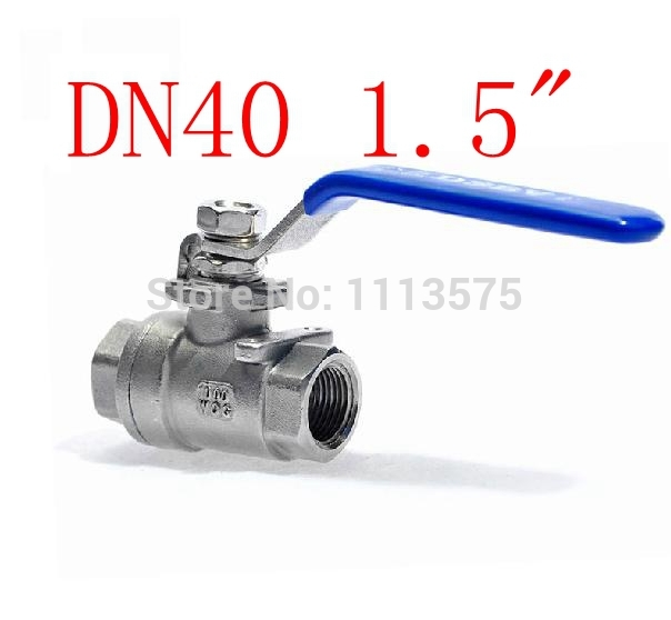 DN40 1.5 304 stainless steel types of shut off water oil ball valve valves pipe fitting fittings gucci children хлопковая рубашка