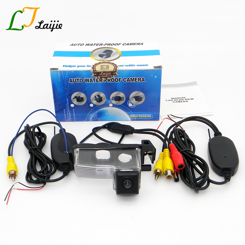 Laijie Wireless Car Rear View Camera For Nissan Patrol Safari Y61 1997 2010 HD CCD Auto